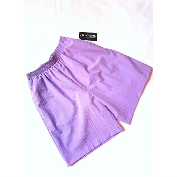 Vintage Pants - Vintage Bonworth lavender high waisted shorts
